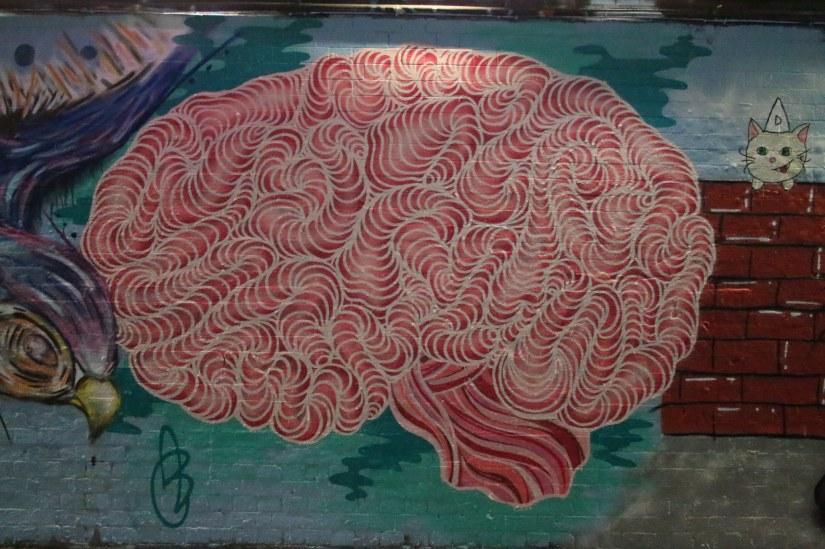 brain graffiti